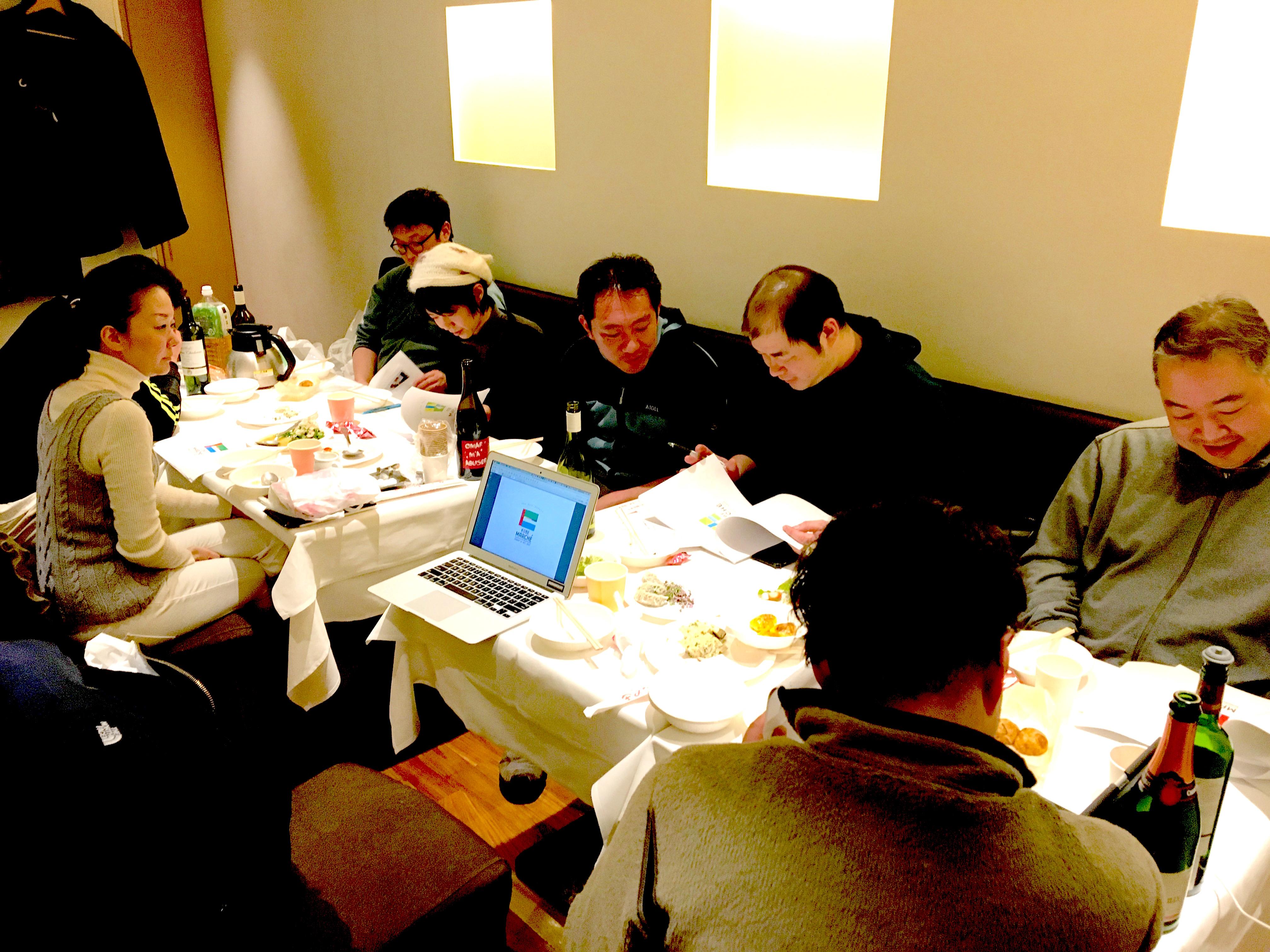 神戸マルシェの役員会に参加しました