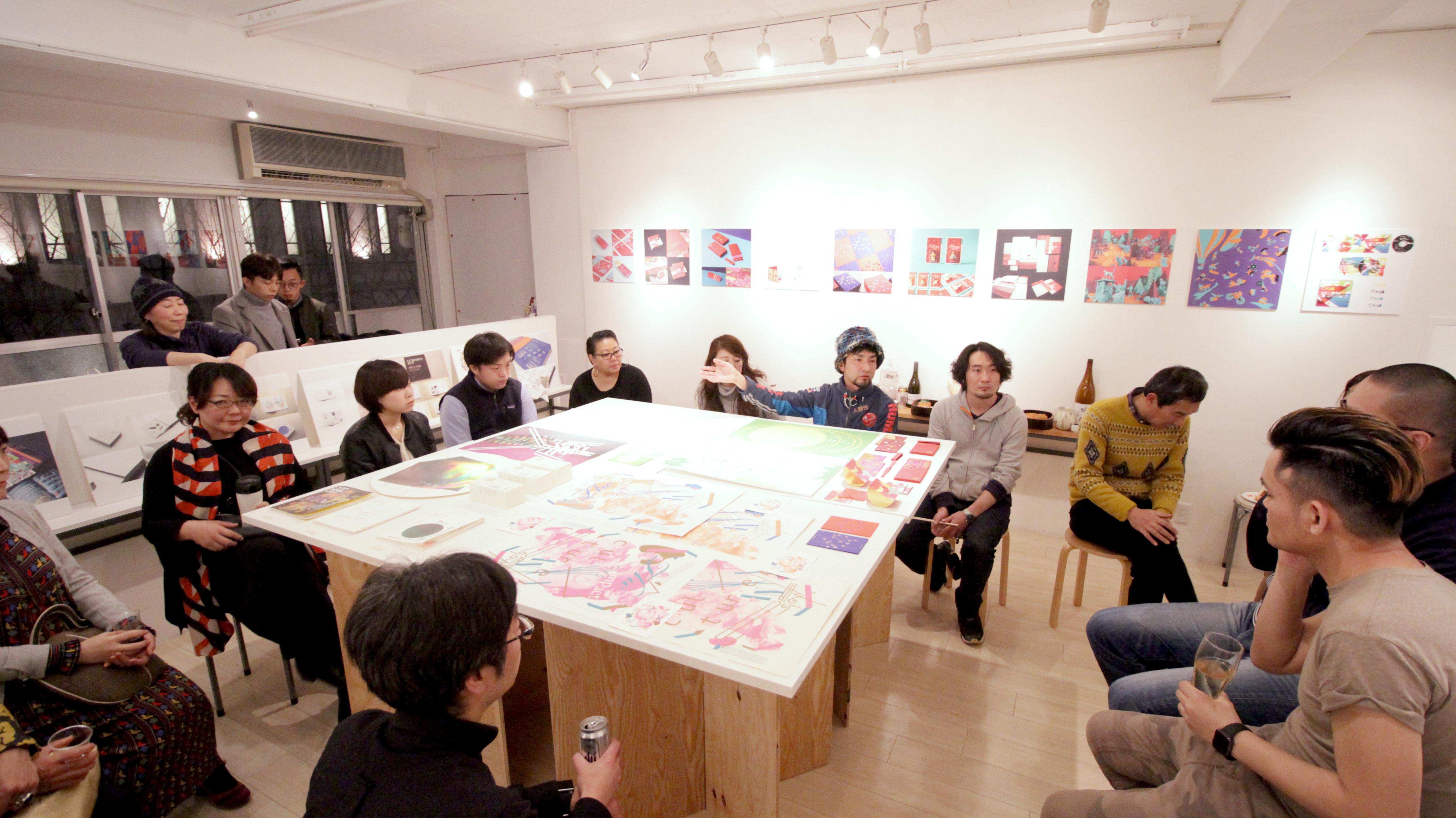 先週土曜日はTSUBAKI STUDIOのJAY氏をお招きしてのレセプションでした