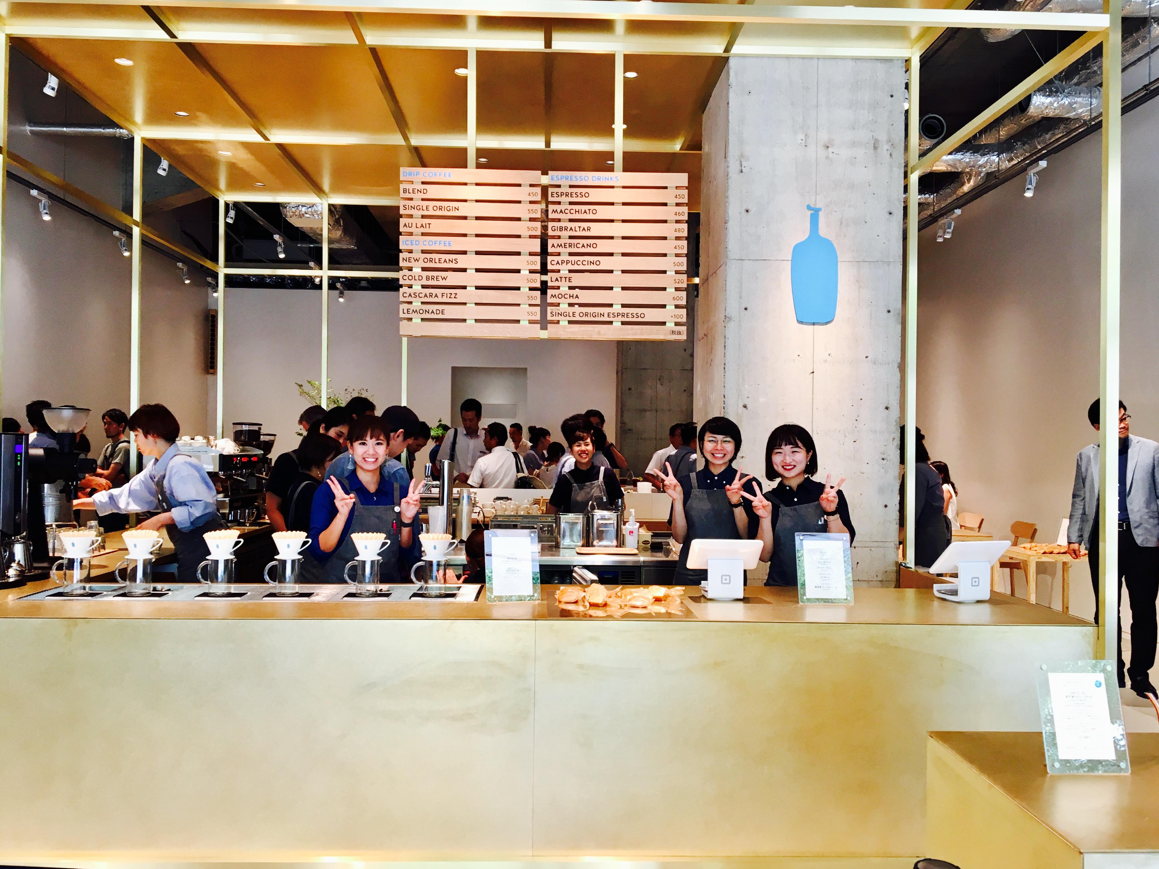 BlueBottleCoffee 神戸カフェのレセプションに行ってきました